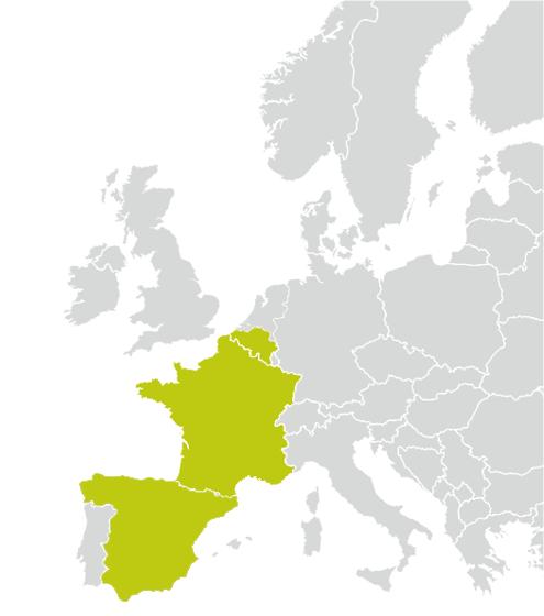 Länder/Zulassungen EURO 4001