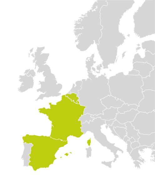 Länder/Zulassungen EURO 6000