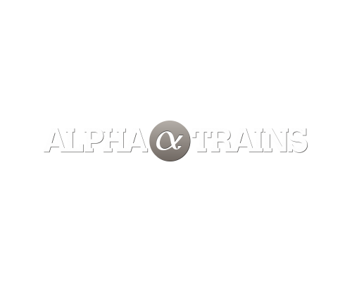 ALPHA_TRAINS_LOGO_WHITE_GRAY_RGB.PNG | © Alpha Trains