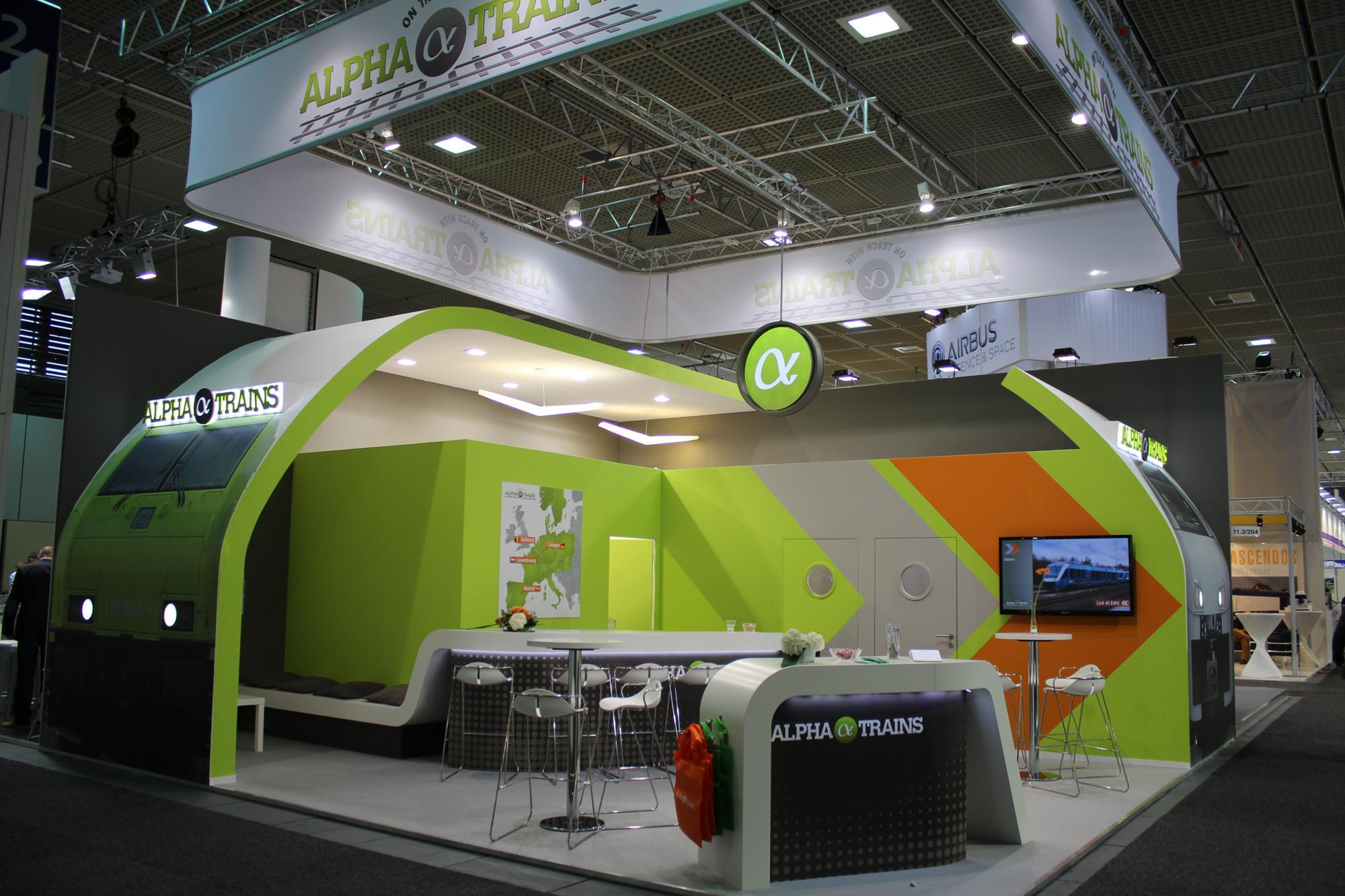 Sonstige | MESSESTAND_INNOTRANS_BIG.JPG | © Alpha Trains