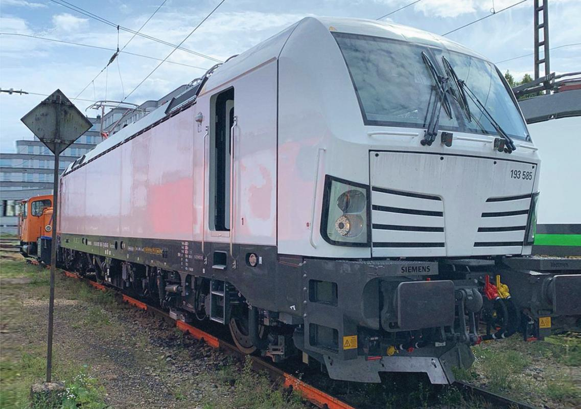 Five Siemens Vectron MS locomotives leased to ČD Cargo