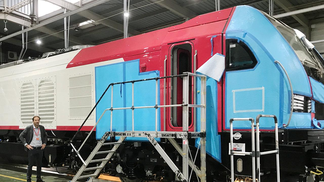Alpha Trains delivers EURO4001 locomotives to CAPTRAIN France © Alpha Trains / Captrain / Stadler