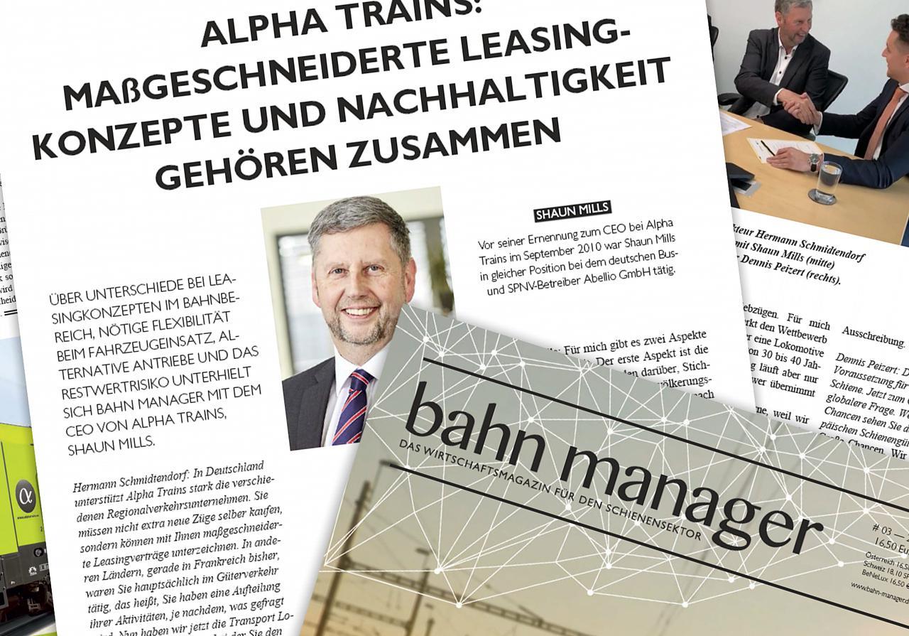 """""""Maßgeschneiderte Leasing-Konzepte und Nachhaltigkeit gehören zusammen"""""""