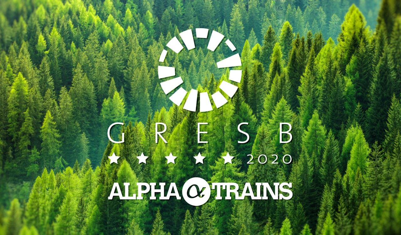 Alpha Trains once again top ranked in GRESB Benchmark