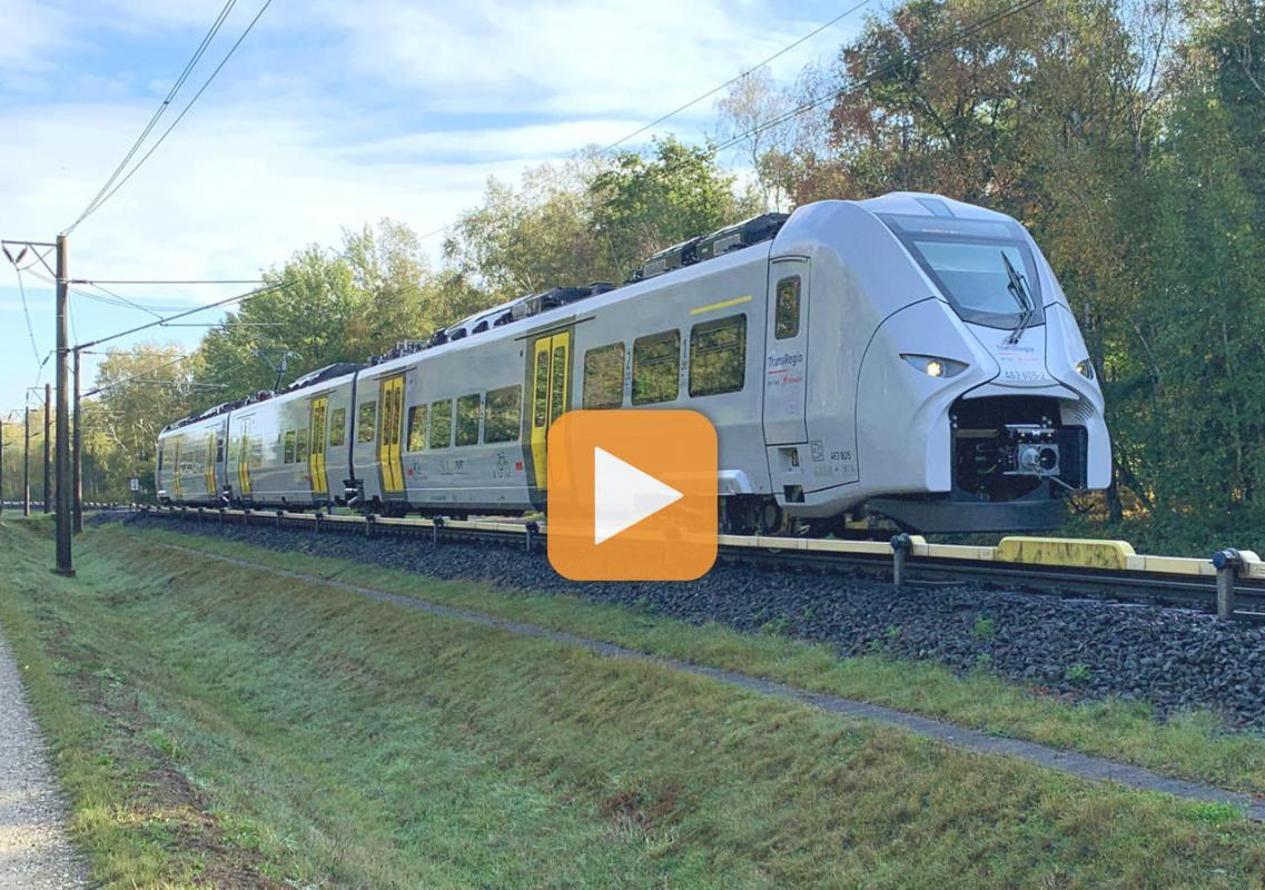 First two of Alpha Trains' brand-new Mireos were transferred to our customer Trans Regio