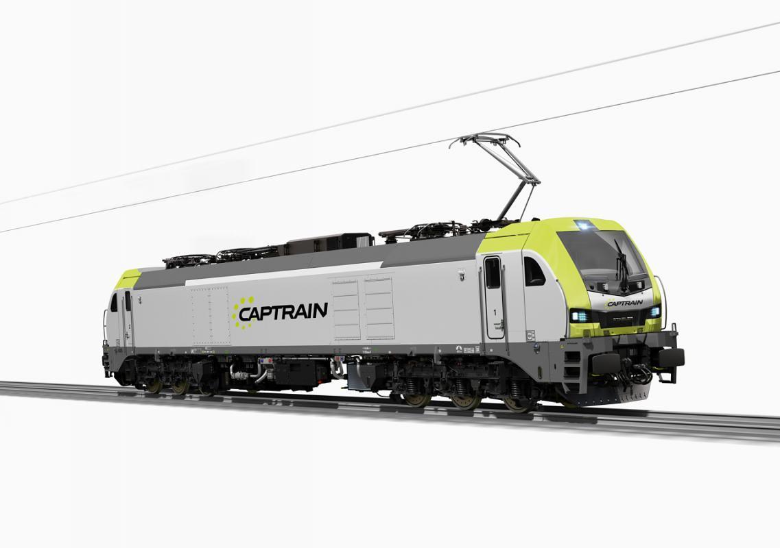 CAPTRAIN España commande des locomotives électriques EURO6000 à écartement standard et à écartement ibérique