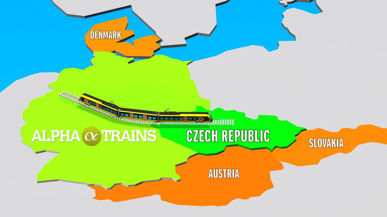 New market: Alpha Trains leases trains to the Czech Republic