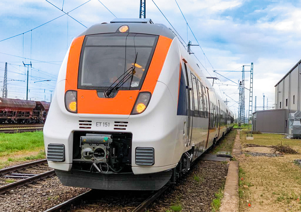 La flotte d'Alpha Trains poursuit son expansion - deux rames automotrices électriques de type Talent 2 du Bombardier © Alpha Trains/Bombardier/Cantus