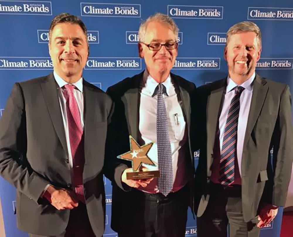 """Alpha Trains mit dem """"Green Bond Pioneer Award"""" ausgezeichnet"""