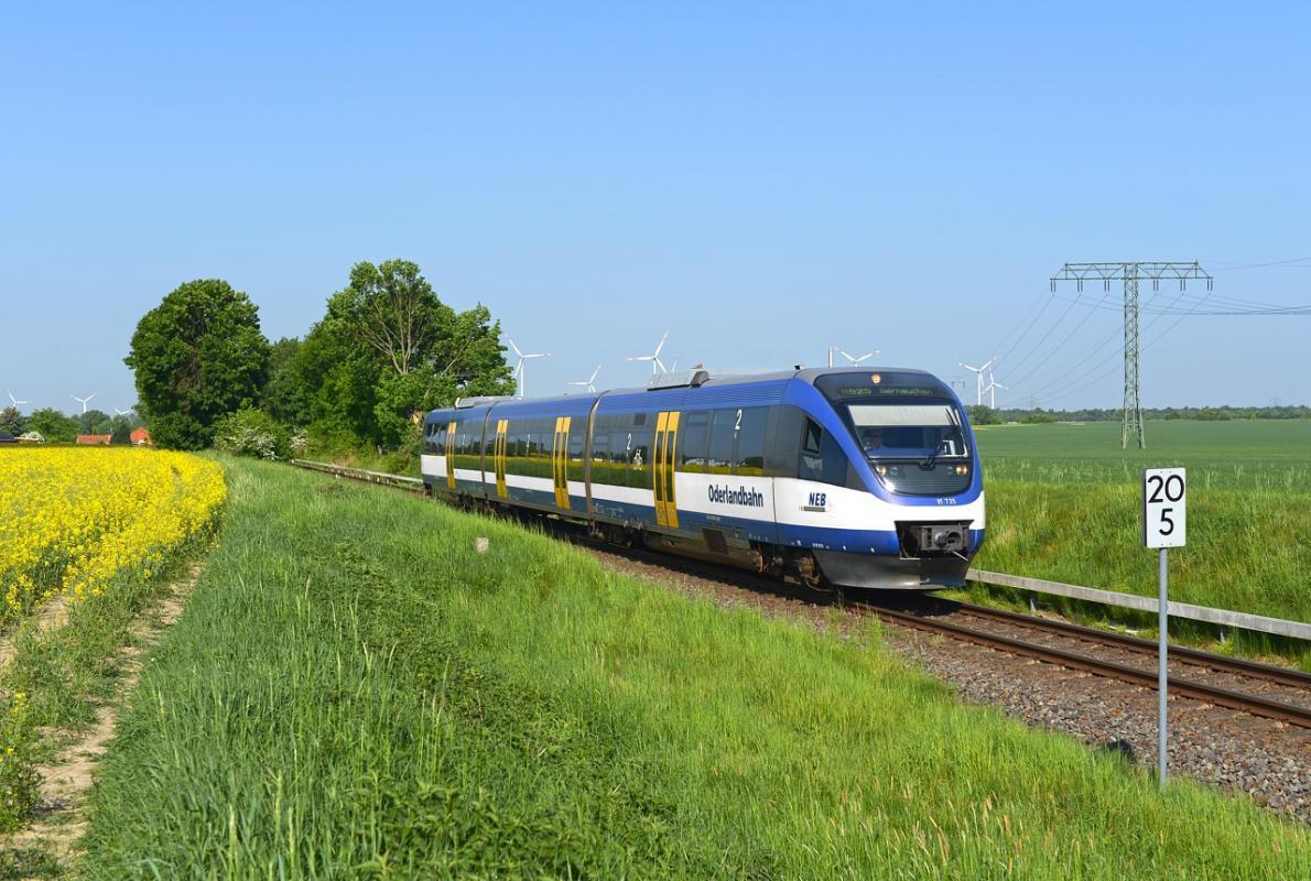 Niederbarnimer Eisenbahn leases additional trains from Alpha Trains