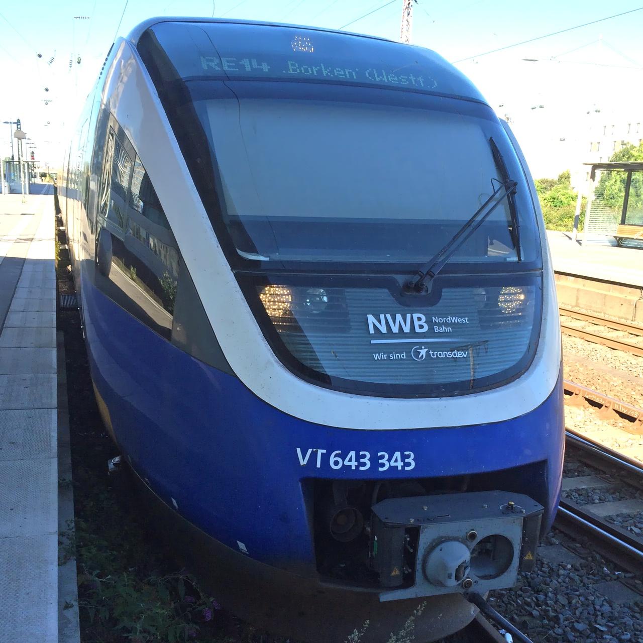 Alpha Trains und NordWestBahn sind gemeinsam erfolgreich